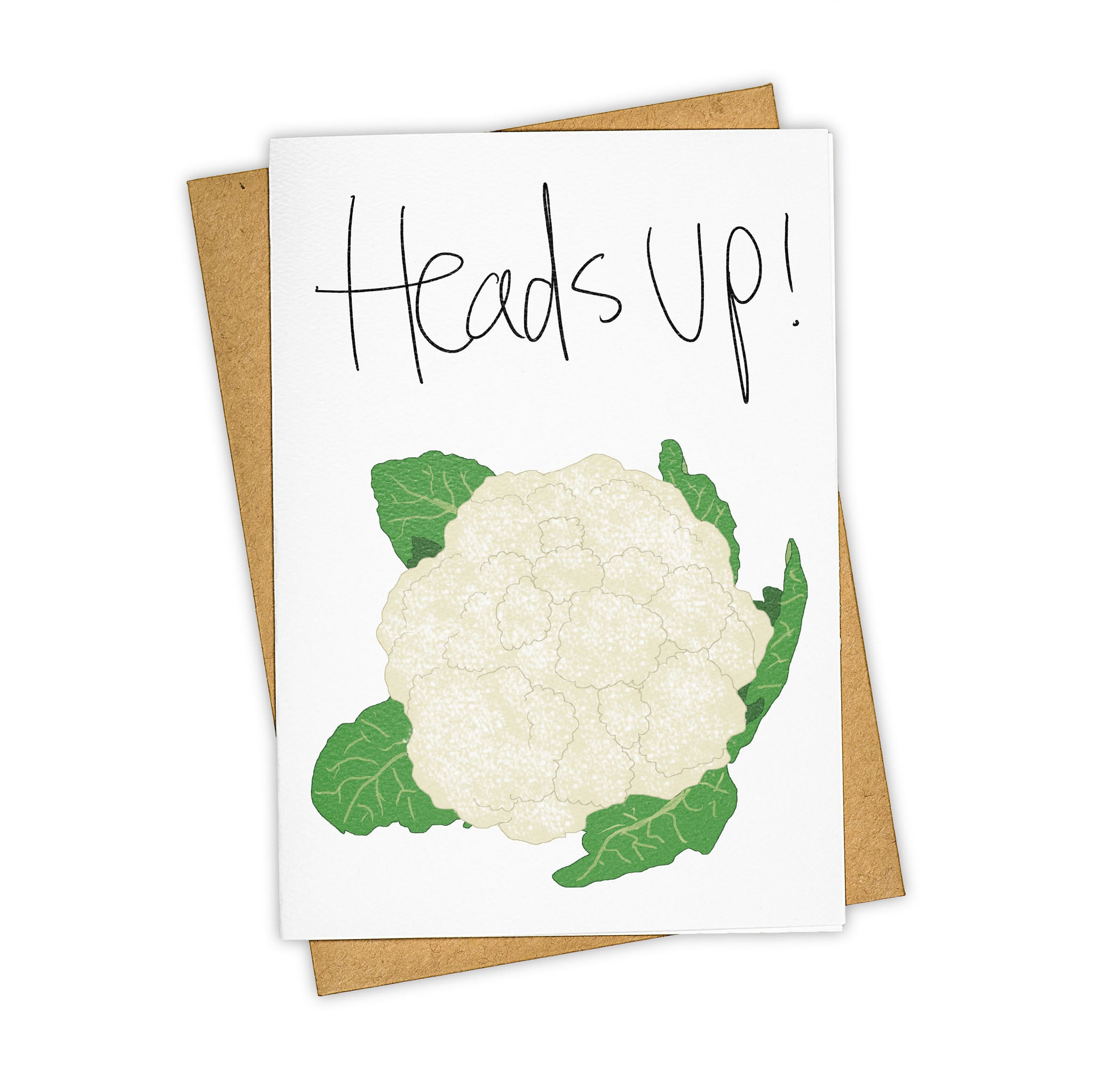 TAY HAM Cauliflower Epicurious Foodie Greeting Card