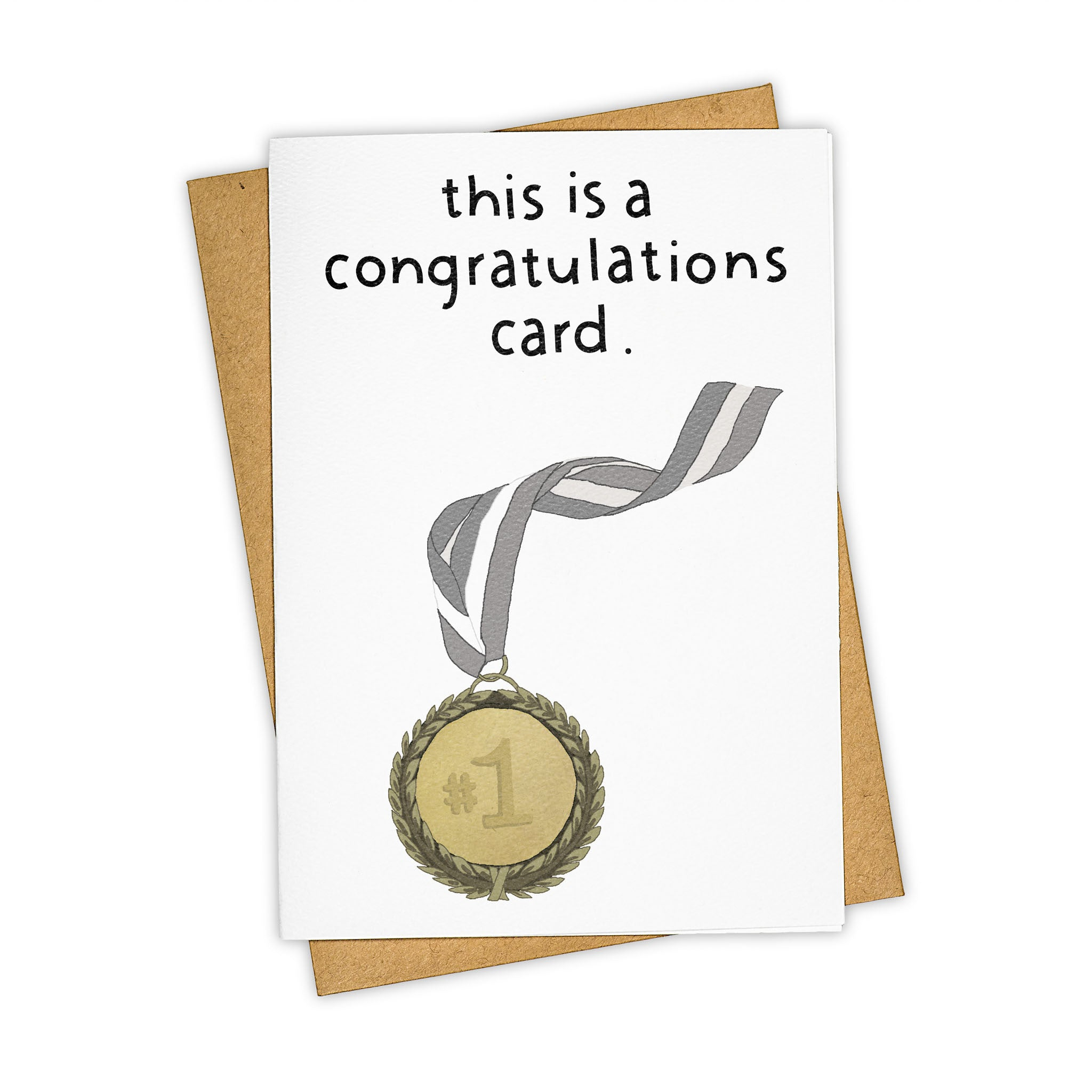 This is a Congrats Card