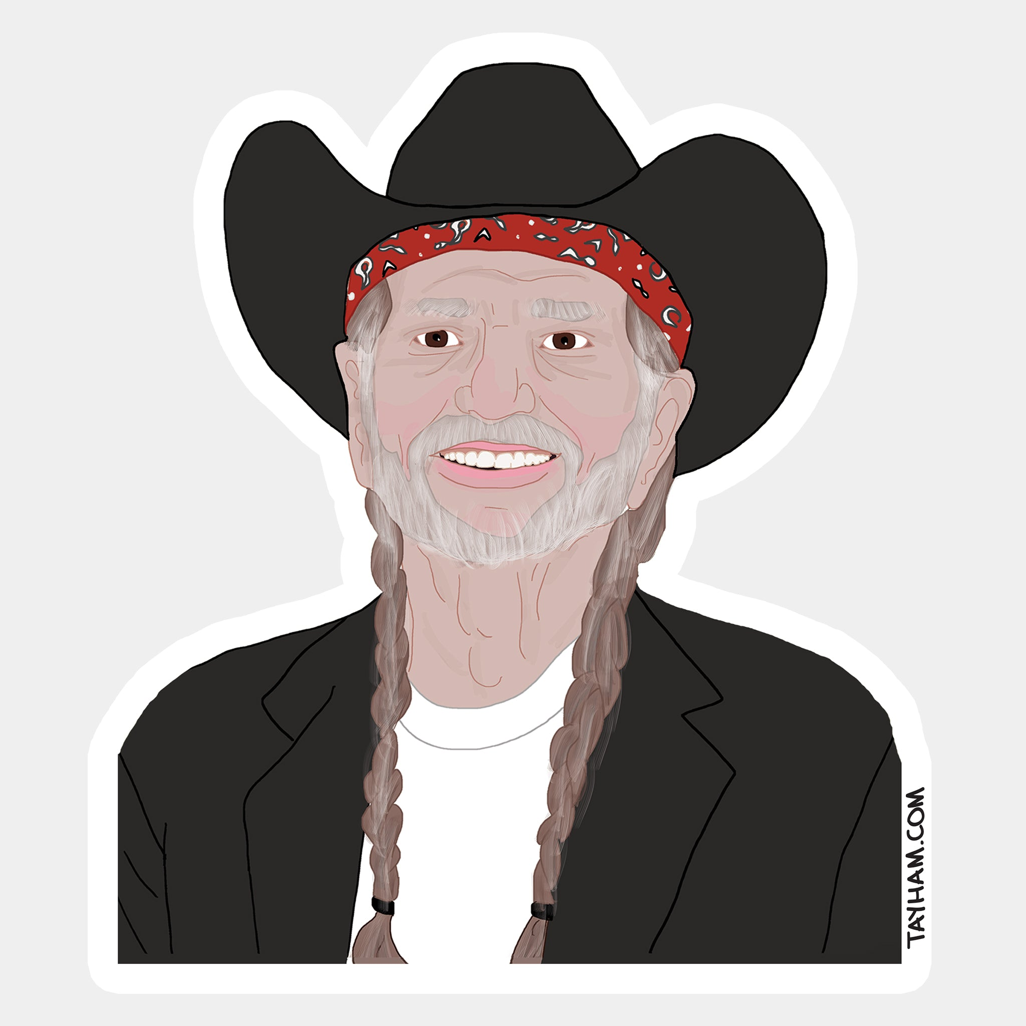 Willie Love Sticker