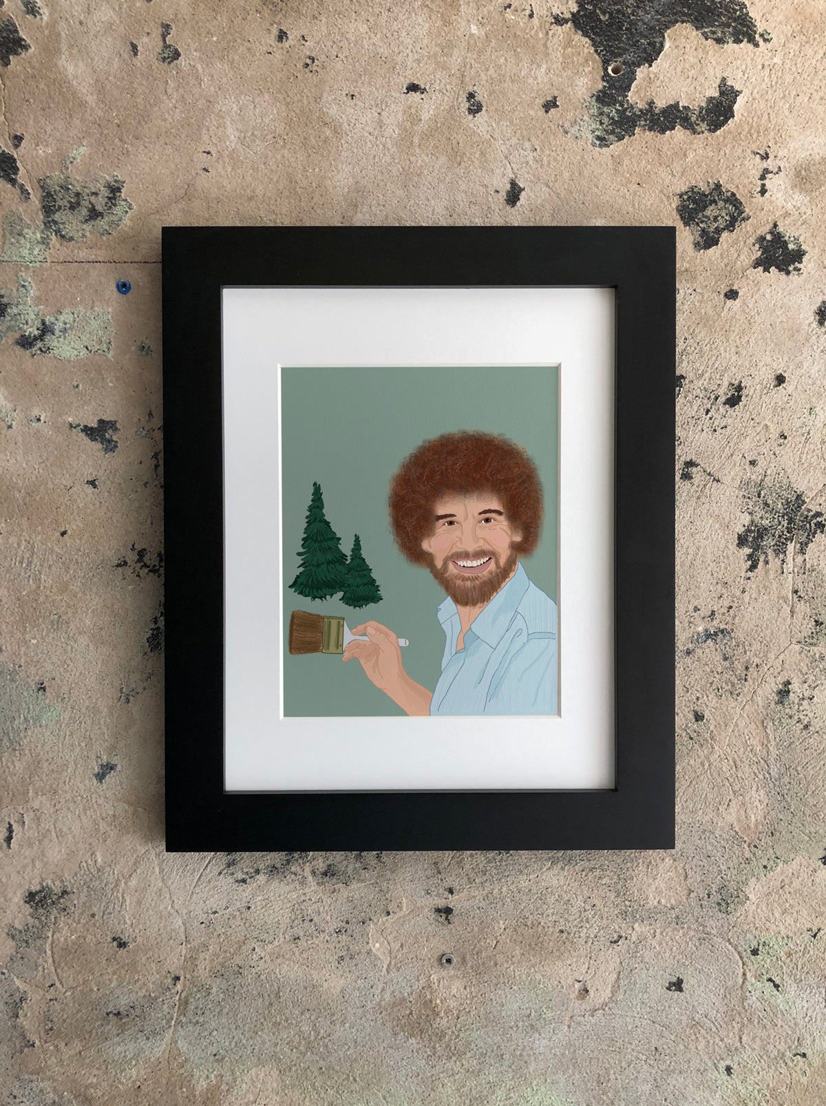 Happy Trees Print