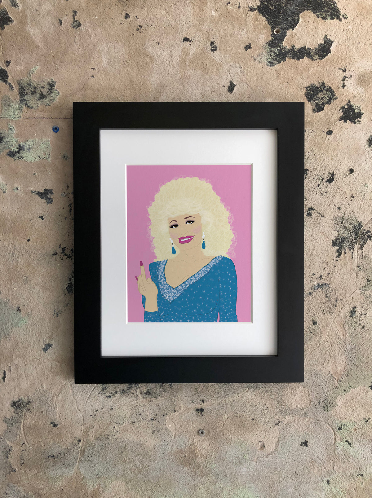 Parton my French Print