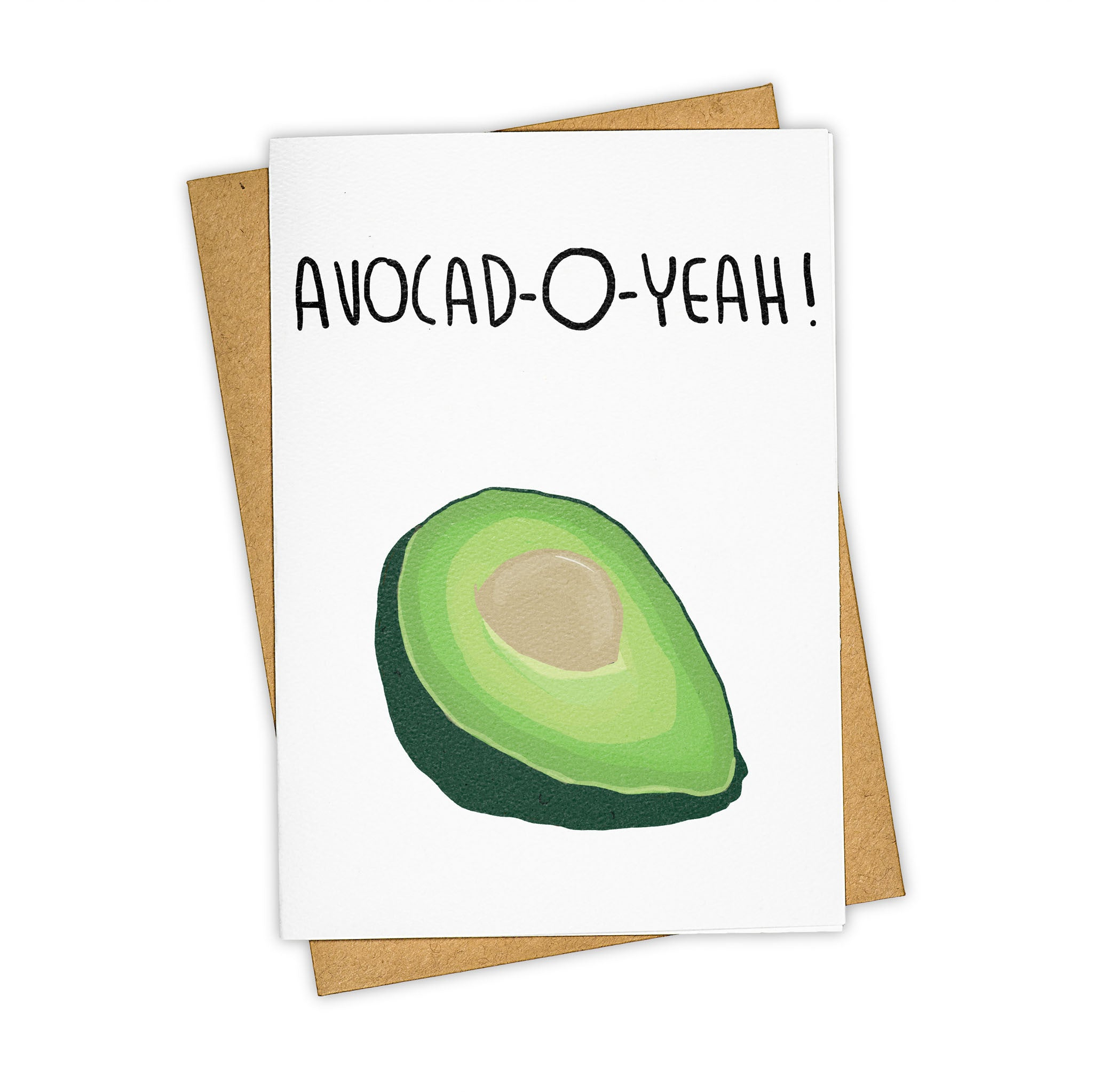 TAY HAM Avocado Greeting Card