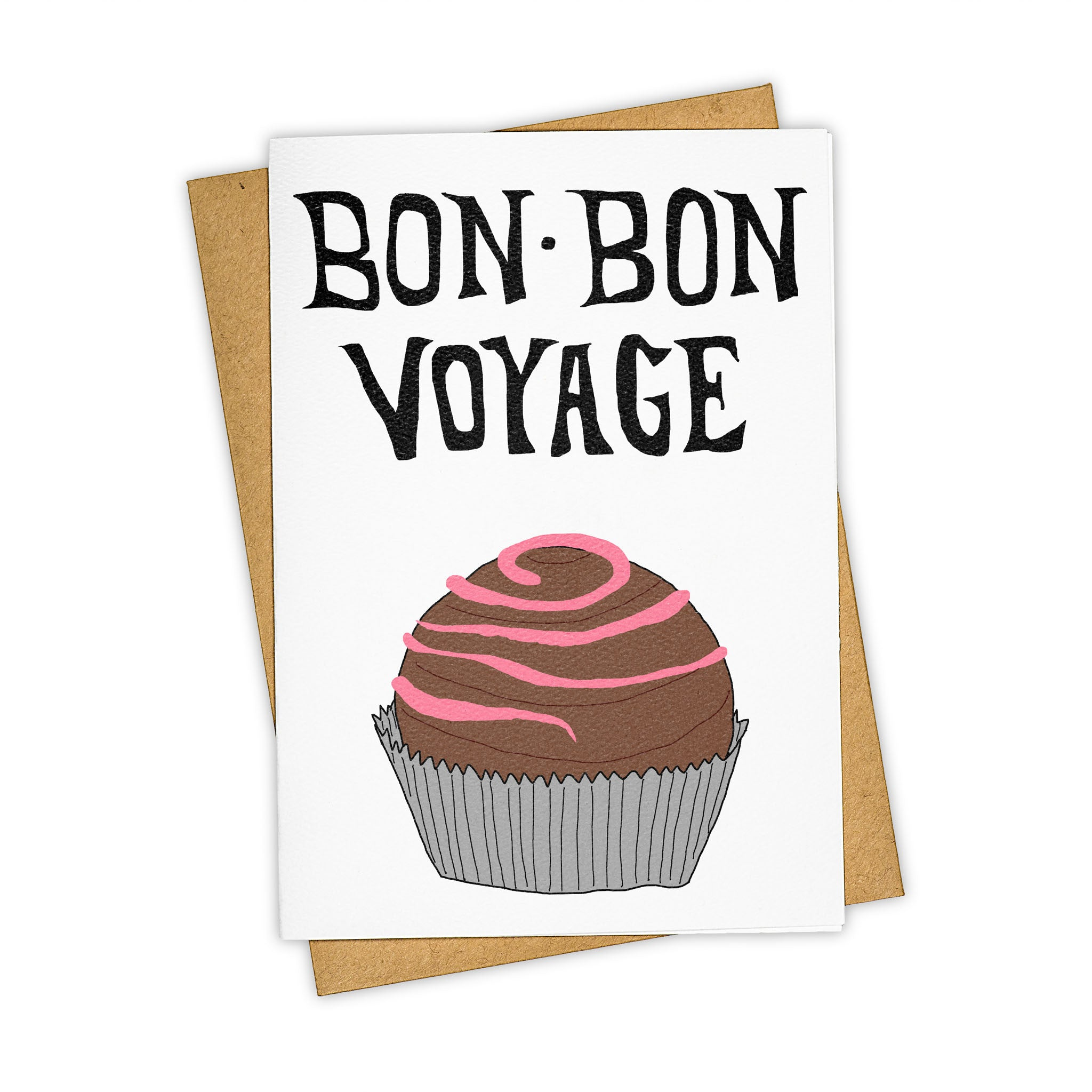 TAY HAM Goodbye Fare Well Bon Voyage Greeting Card