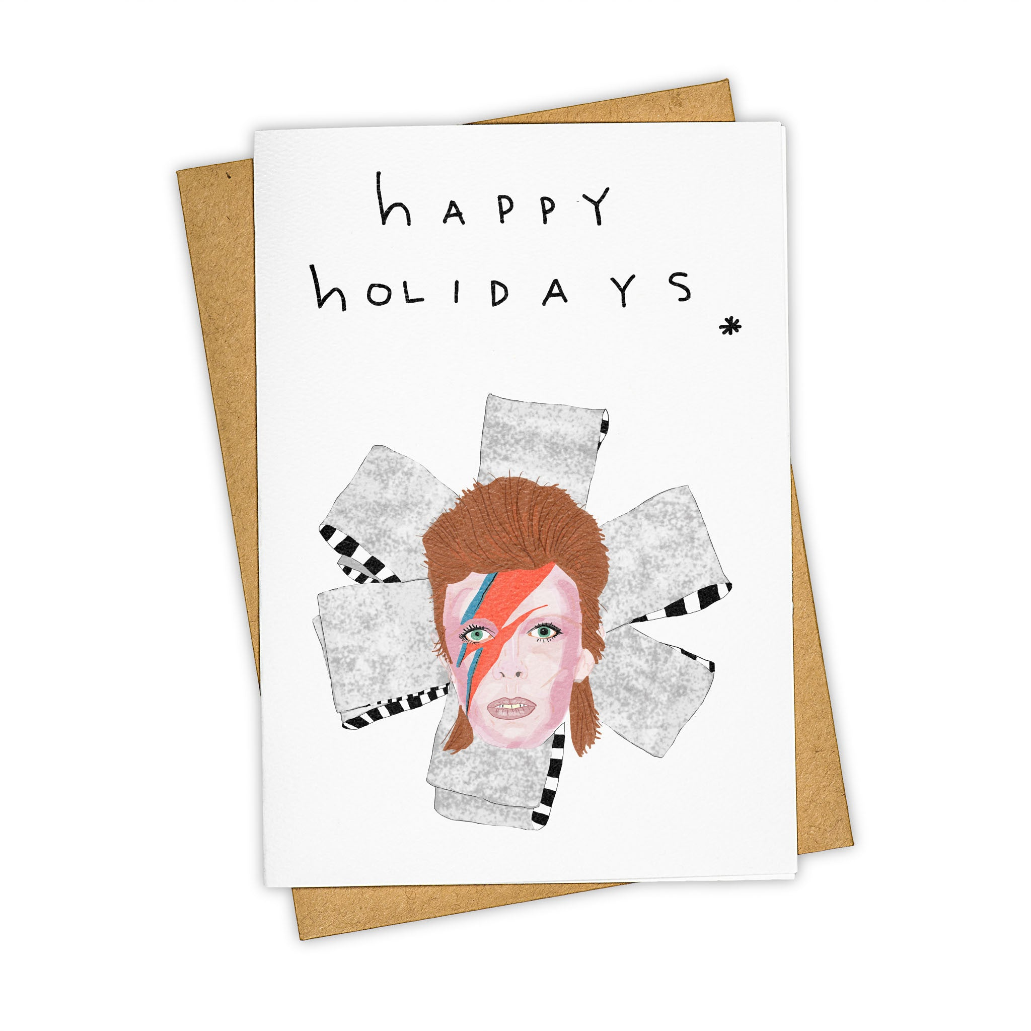 TAY HAM David Bowie Happy Holidays Christmas Card