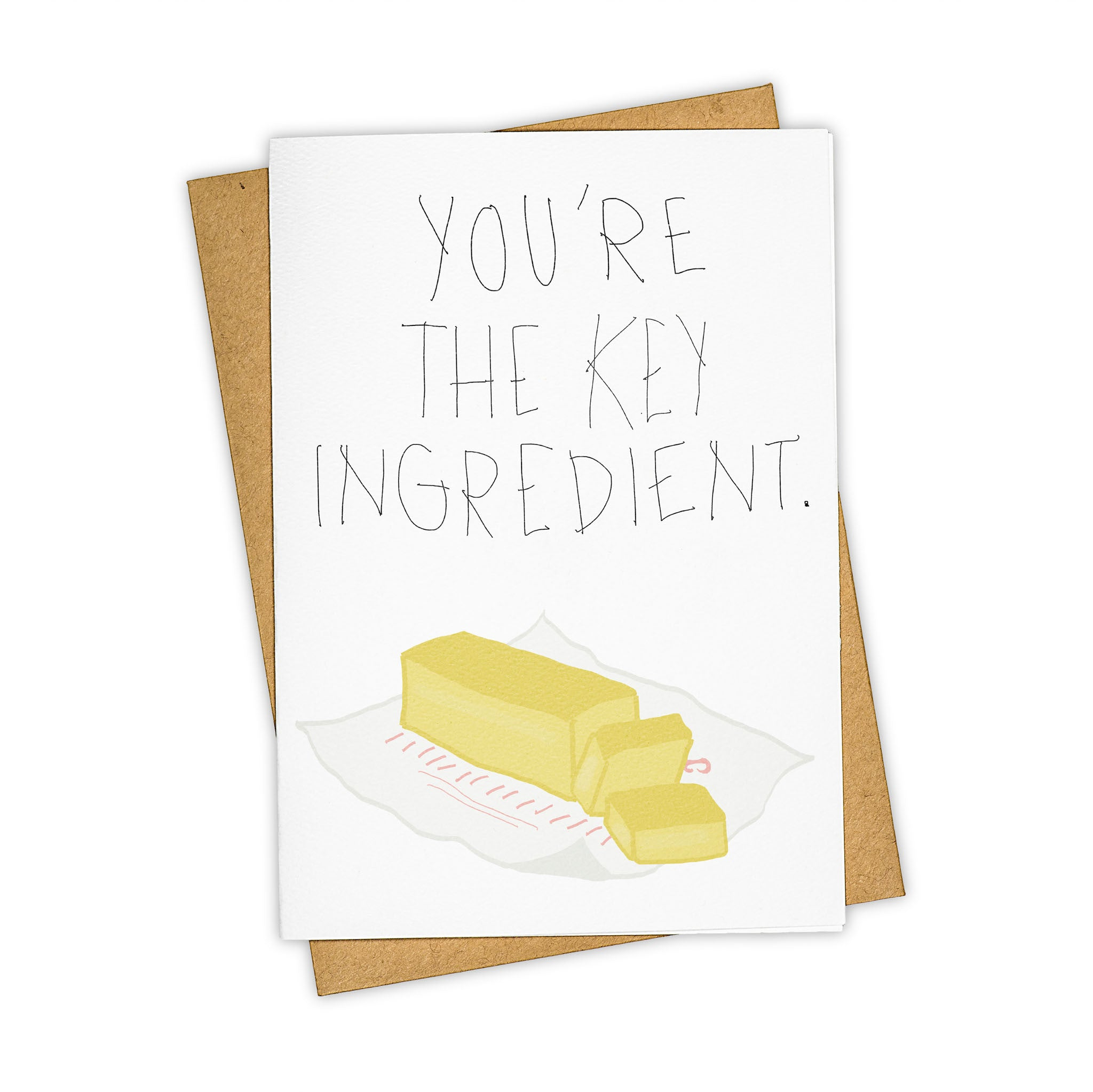TAY HAM Butter Key Ingredient Mother's Day Card Mom