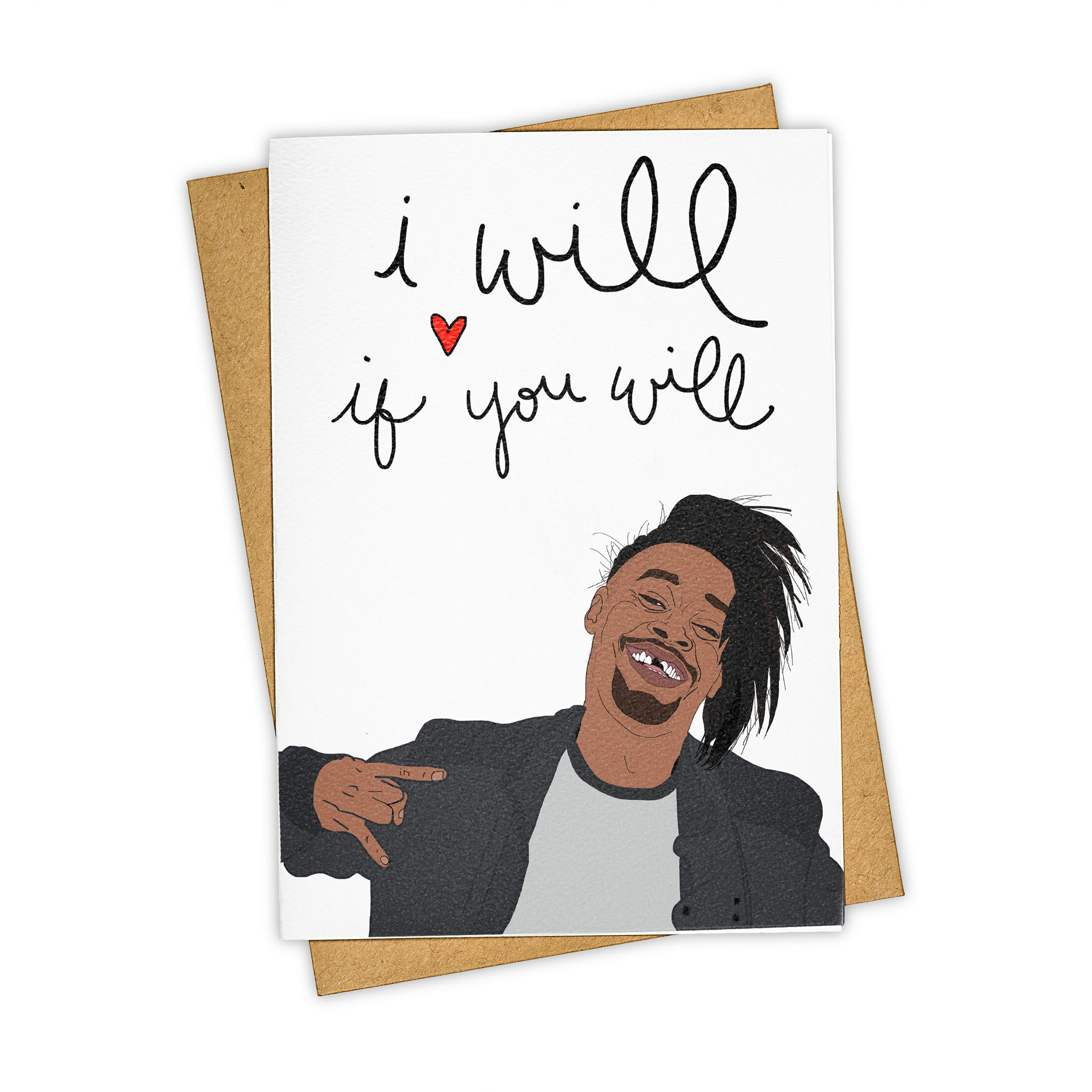 TAY HAM Danny Brown I Will Greeting Card