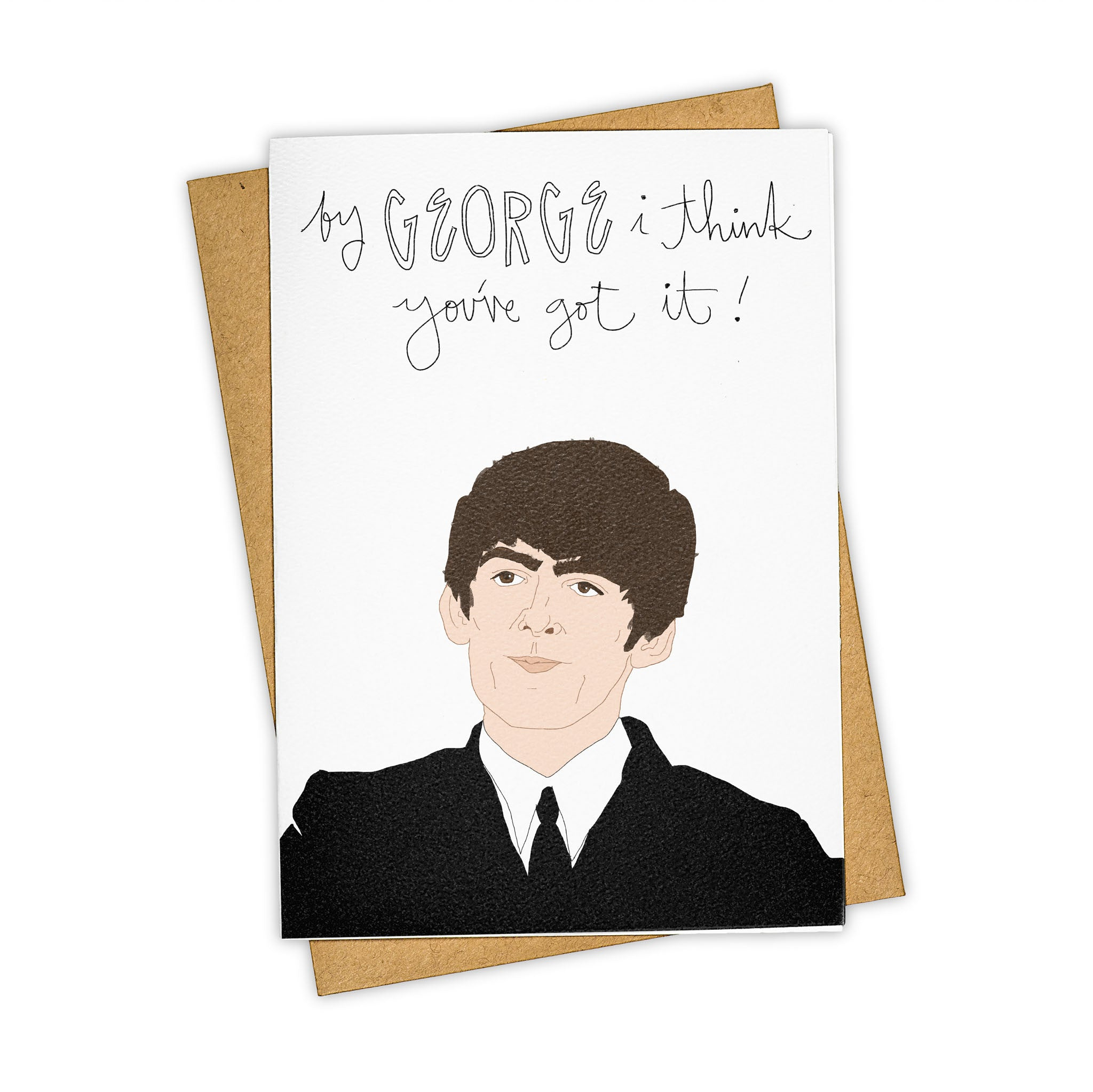 TAY HAM The Beatles George Harrison Birthday Card