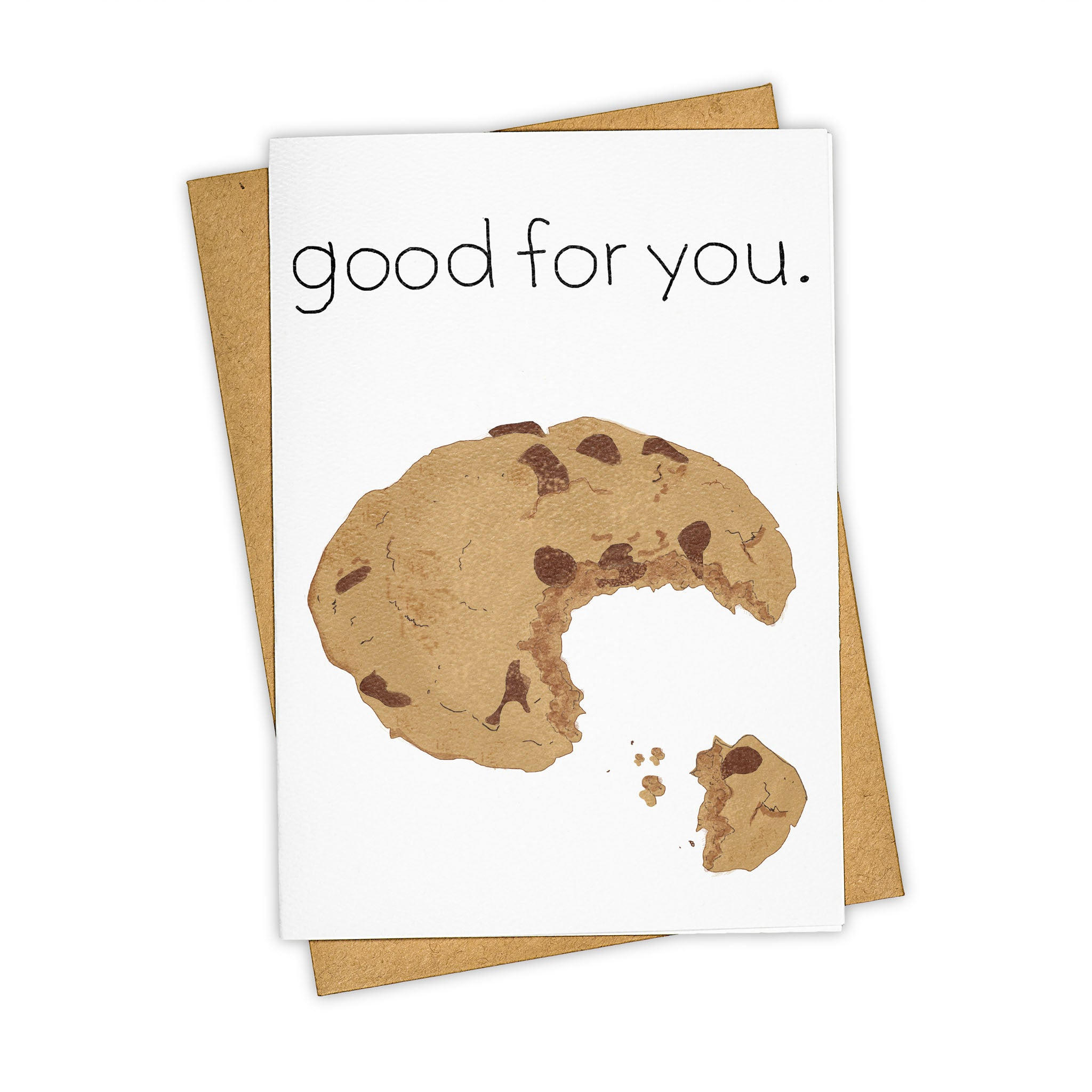 TAY HAM Good for You Want a Cookie Greeting Card