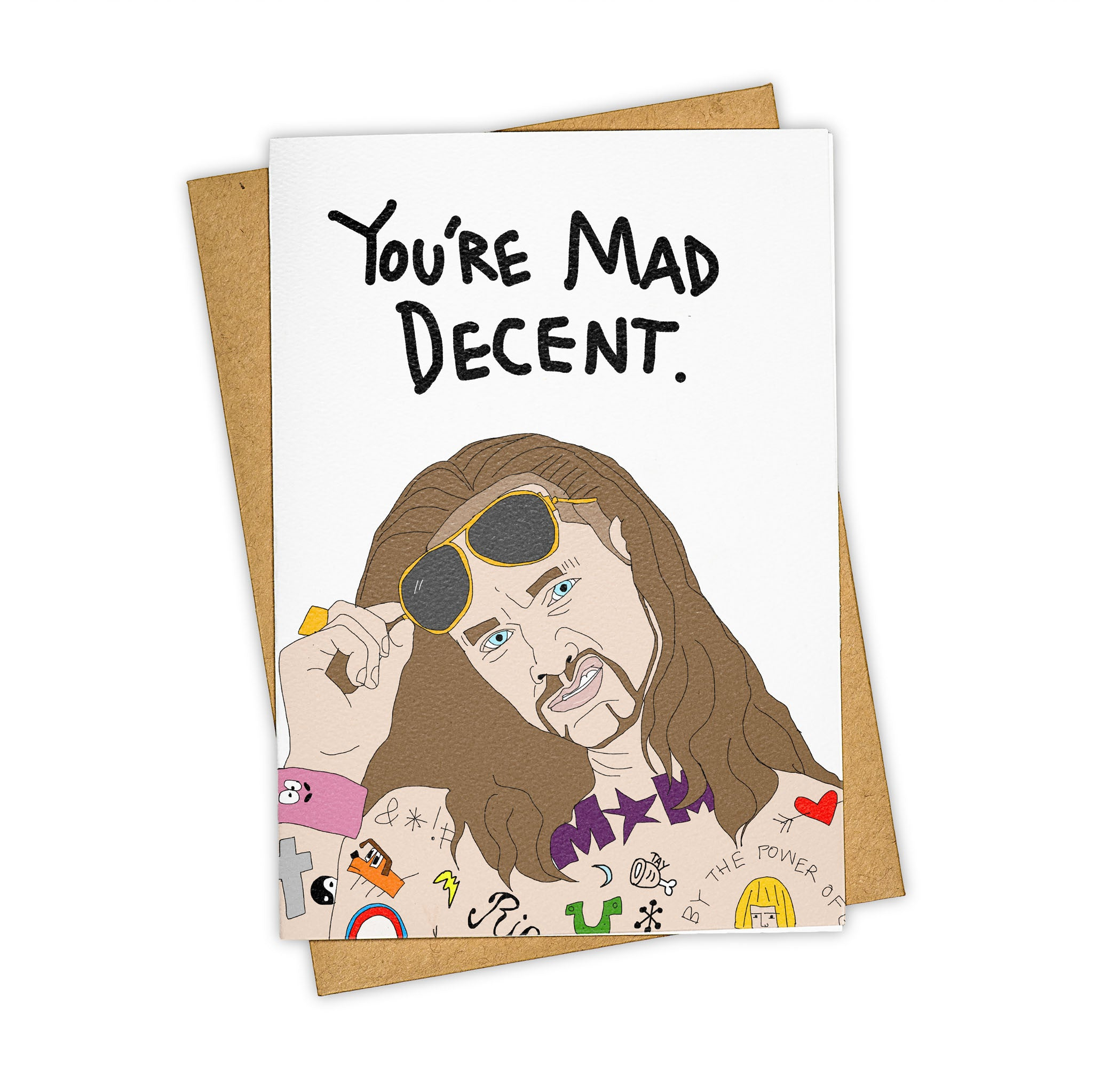 TAY HAM Riff Raff Mad Decent Card