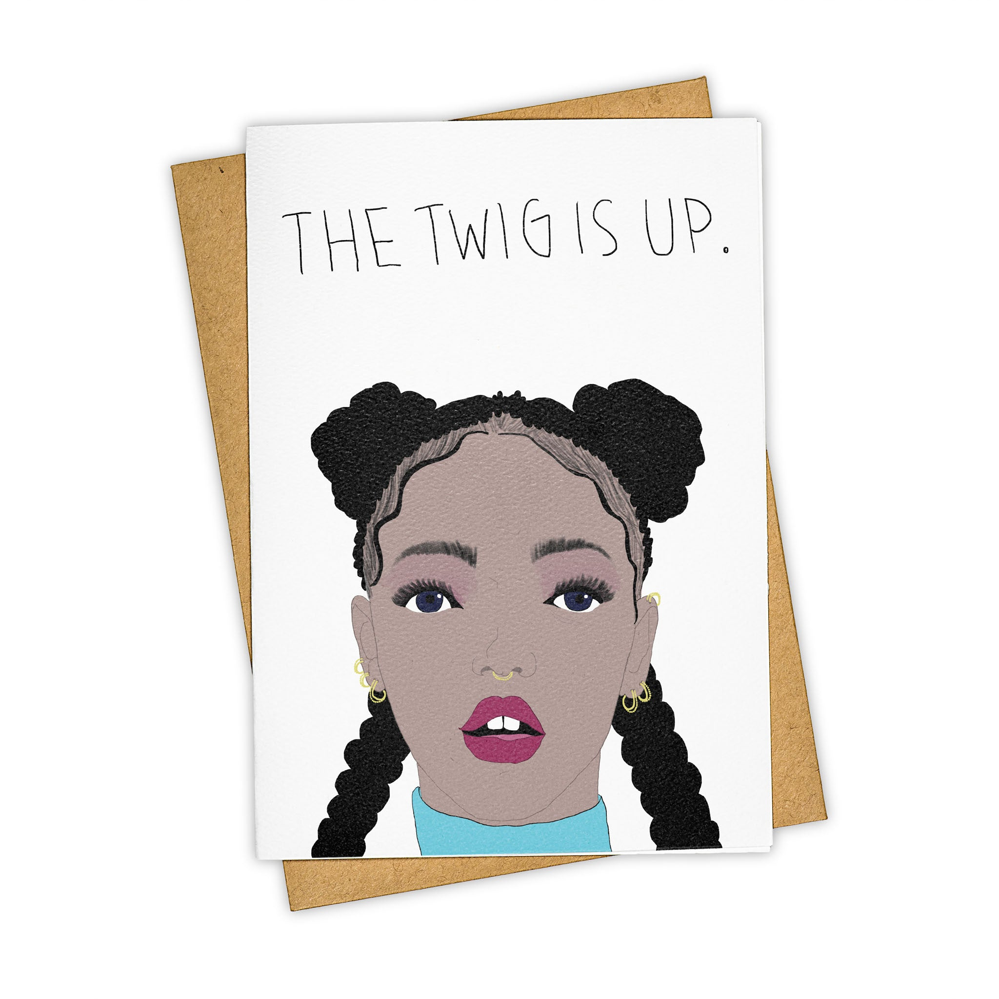 TAY HAM FKA Twigs Greeting Card
