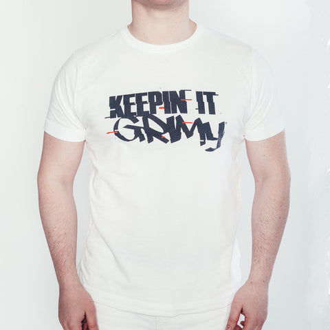 KeepinItGrimy 'Glitch' logo t-shirt