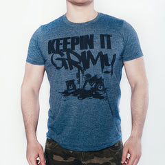 KeepinItGrimy 'OG' logo fitted t-shirt