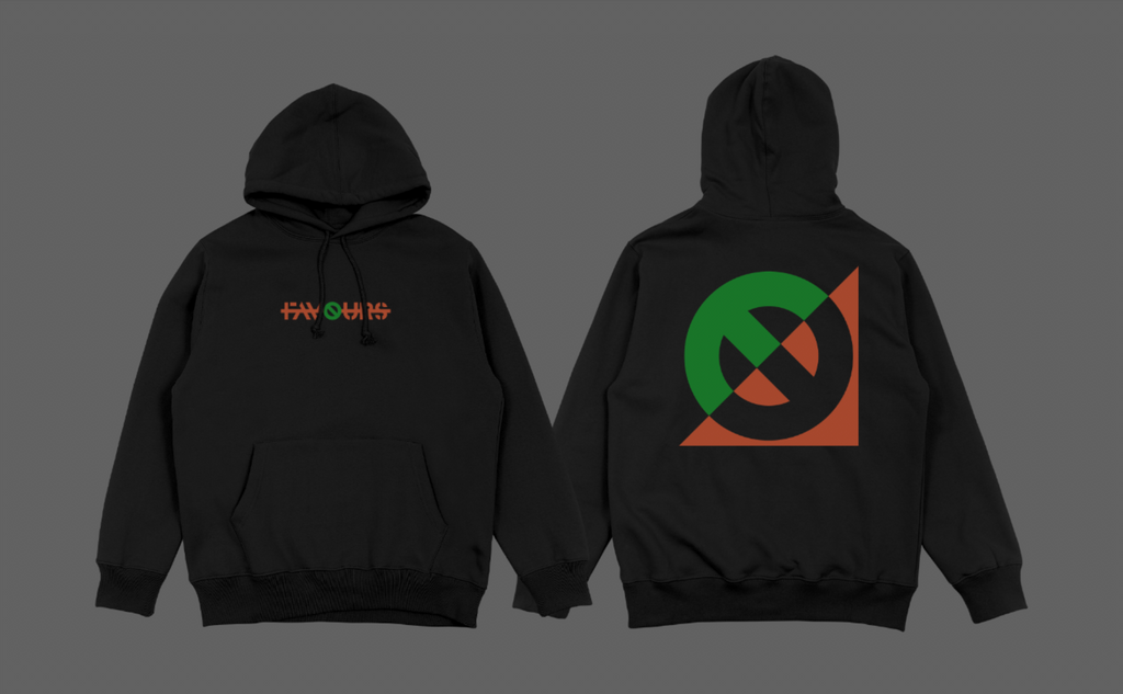 Footsie 'NO FAVOURS' limited edition hoodie