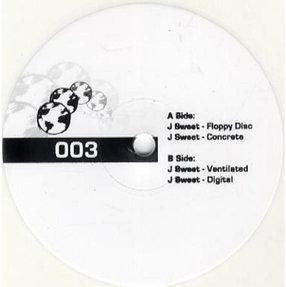 "J Sweet - Floppy Disc EP 12"" limited edition white vinyl"