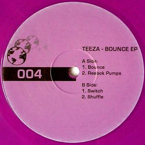 "Teeza - Bounce EP 12"" limited purple vinyl"