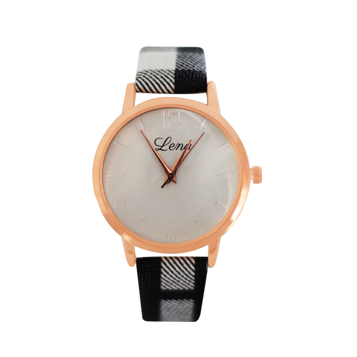 Lena Casual Analog Leather Watch For Women - Multi Color