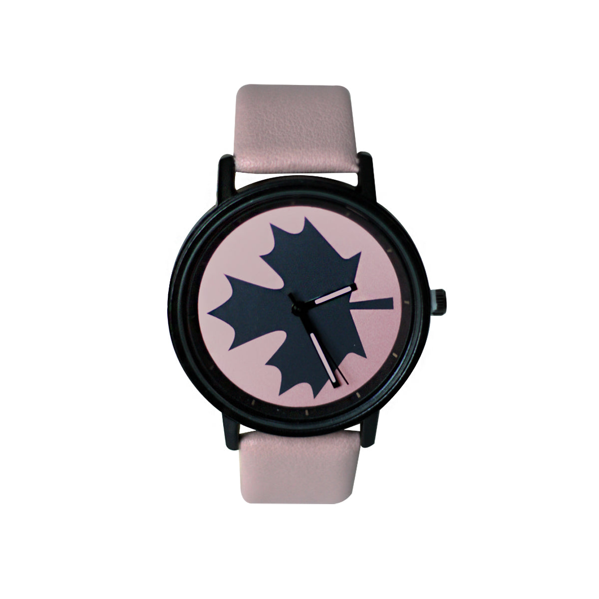 Licaihong Casual Analog Leather Watch For Women - Pink