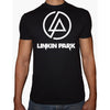 Phoenix BLACK Round Neck Printed T-Shirt Men (Linkin park)