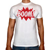Phoenix WHITE Round Neck Printed T-Shirt Men (Boom )