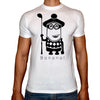 Phoenix WHITE Round Neck Printed T-Shirt Men (Despicable me)