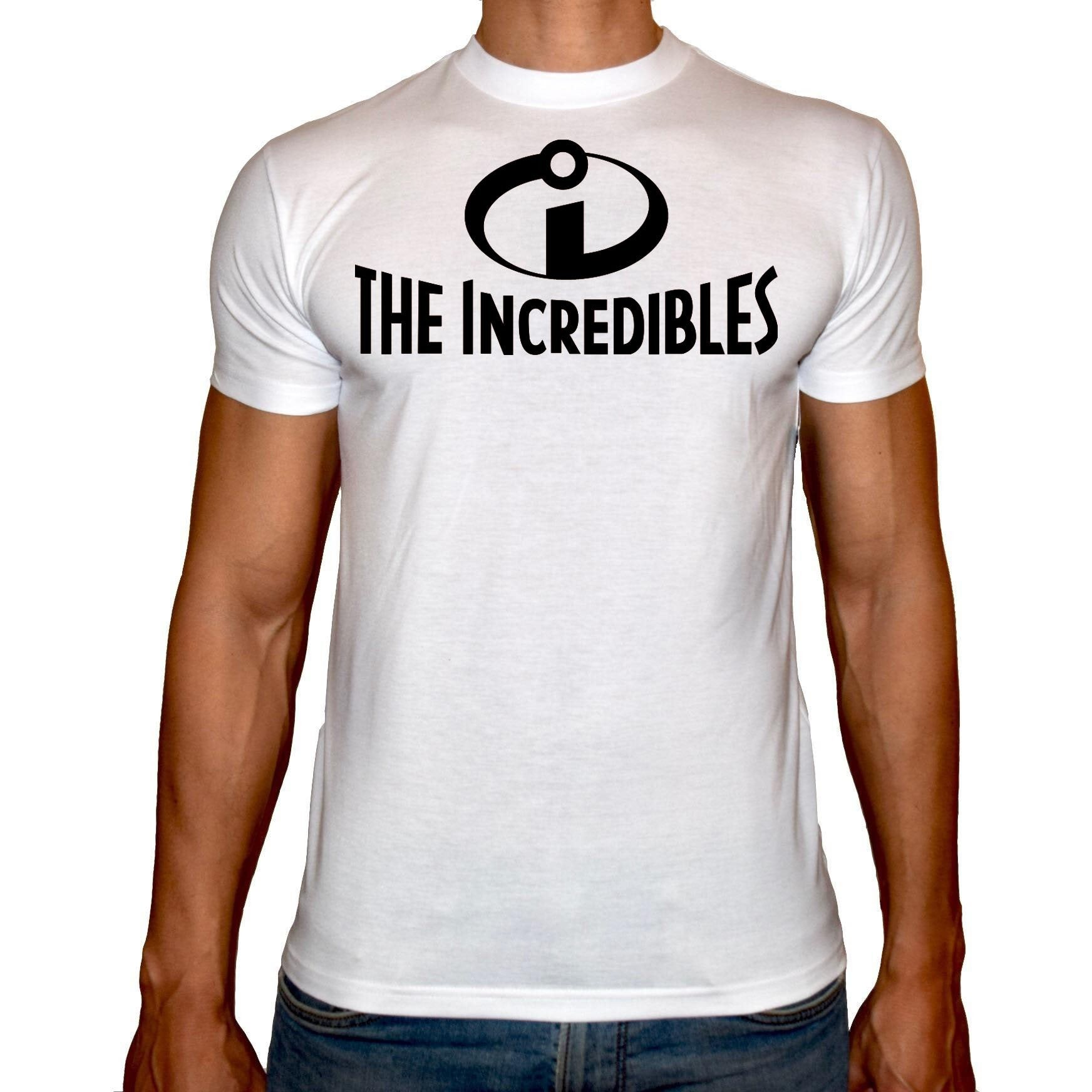 Phoenix WHITE Round Neck Printed T-Shirt Men (The incredibles)