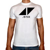 Phoenix WHITE Round Neck Printed T-Shirt Men (Avicii)