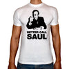 Phoenix WHITE Round Neck Printed T-Shirt Men (Better call saul)