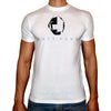 Phoenix WHITE Round Neck Printed T-Shirt Men (Daft punk)