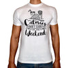 Phoenix WHITE Round Neck Printed T-Shirt Men (Calories)