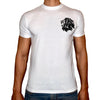Phoenix WHITE Round Neck Printed T-Shirt Men (Lion)