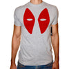 Phoenix GREY Round Neck Printed T-Shirt Men (Deadpool)