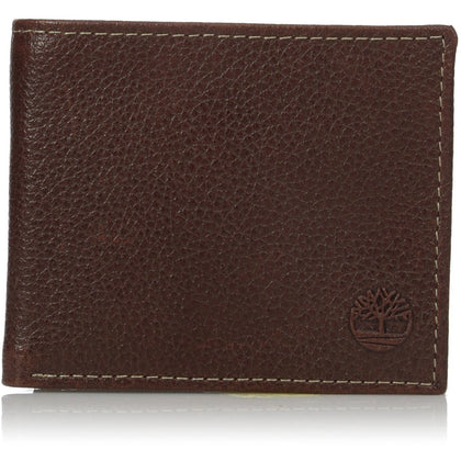 f6605f5d80d0 Timberland Men s Leather Slimfold Wallet with Tech Key Chain Gift Set