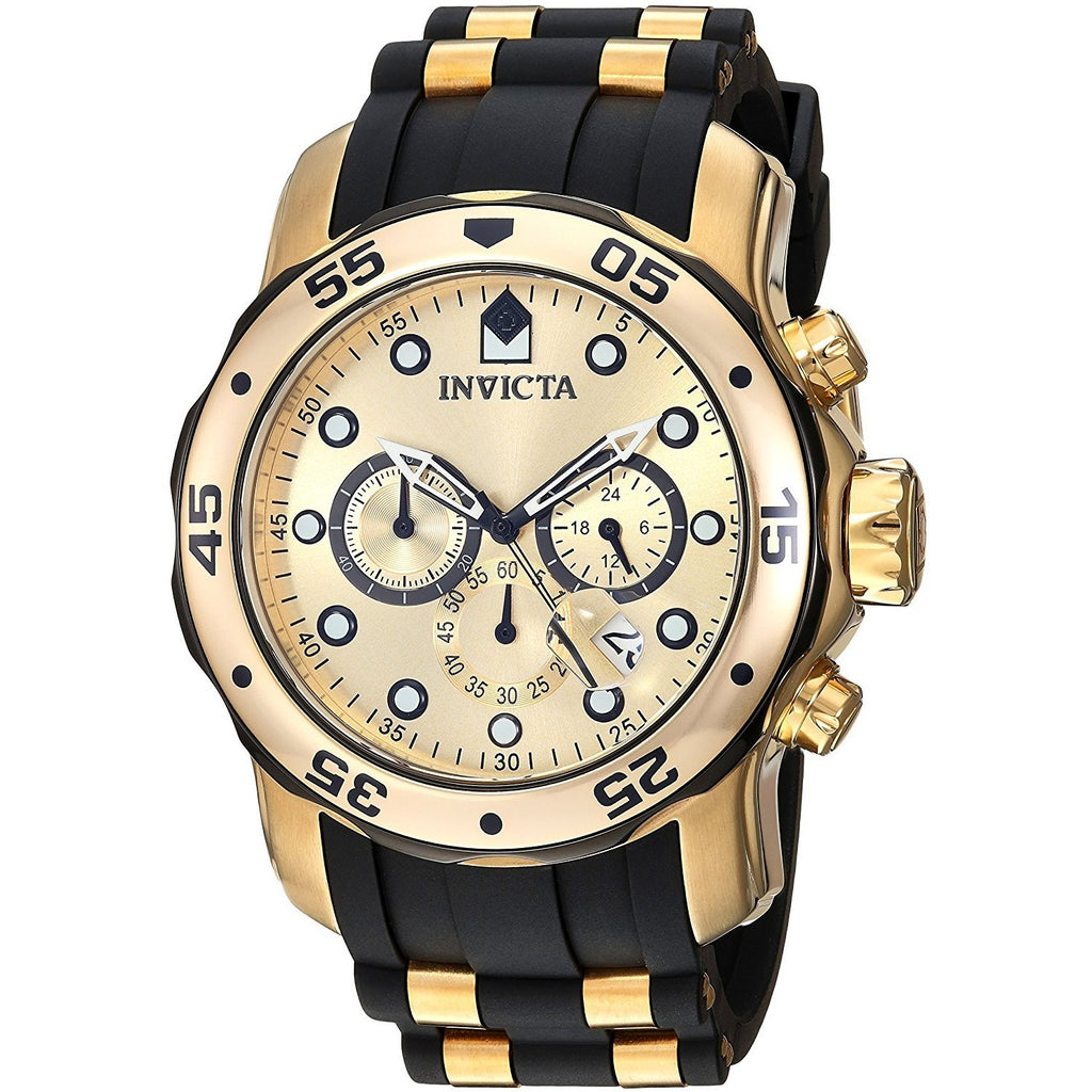 Invicta Men's 17885 Pro Diver Ion-Plated Stainless Steel Watch with Polyurethane Band - 3alababak