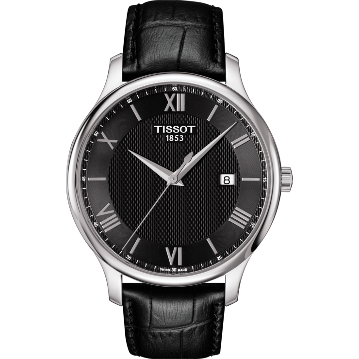Tissot T063.610.16.058.00 For Men Analog Leather Band Watch - 3alababak