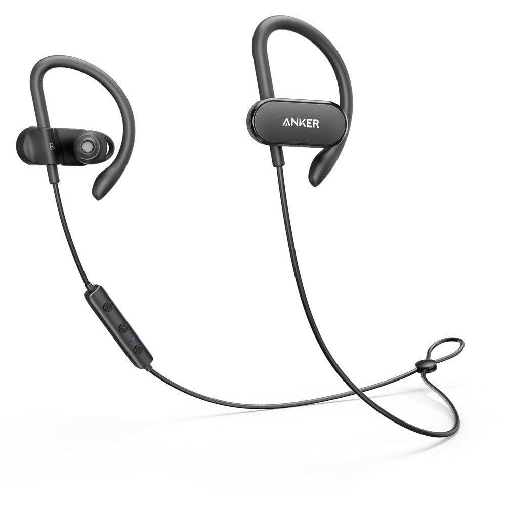 Anker SoundBuds Curve Bluetooth 4.1 Sports Earphones with 12.5 Hour Battery, Bluetooth Headphones - 3alababak