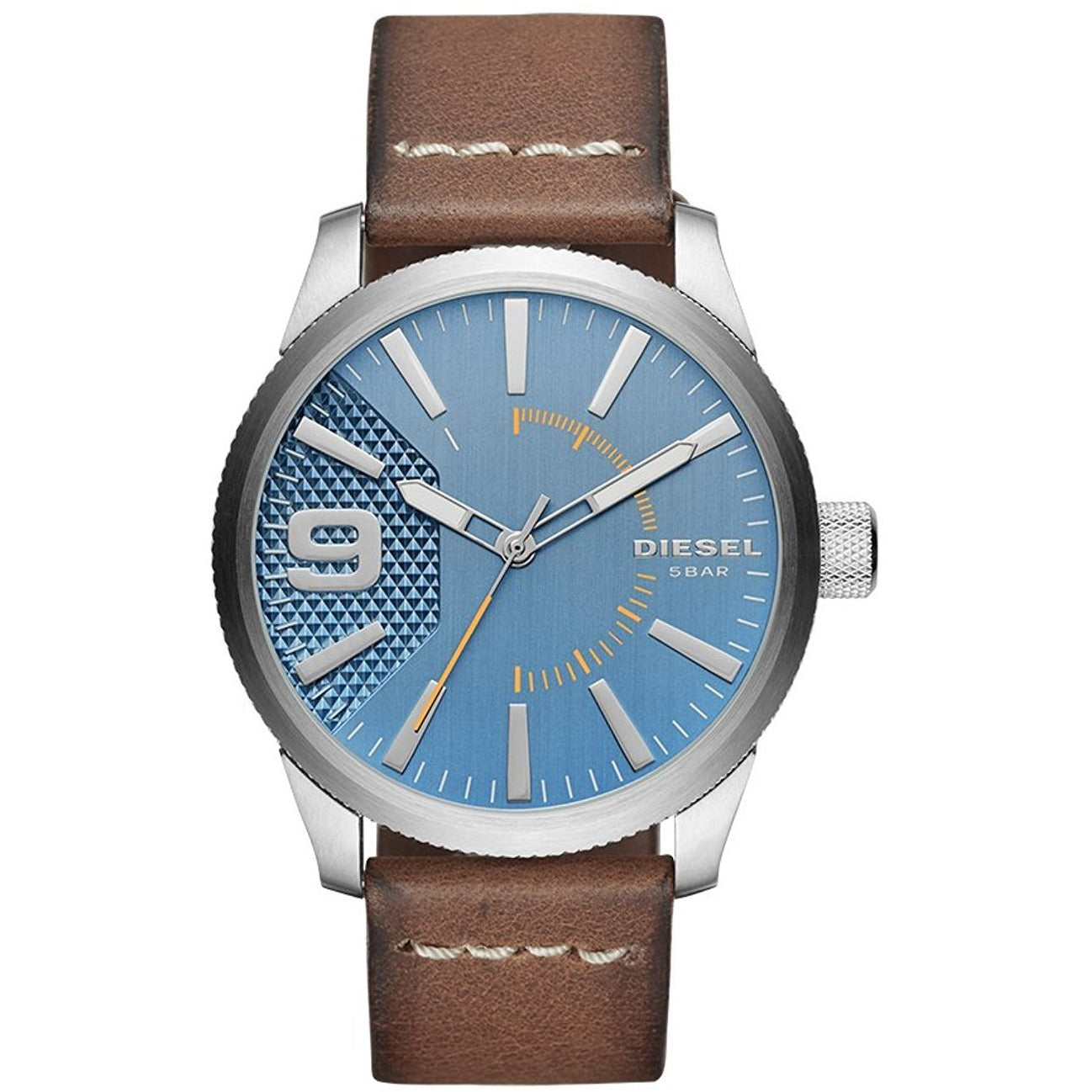 Diesel Casual Watch For Men Analog Leather - DZ1804