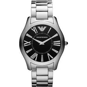 Emporio Armani Men's Slim Analog-Quartz Stainless-Steel Strap Watch Model AR2022