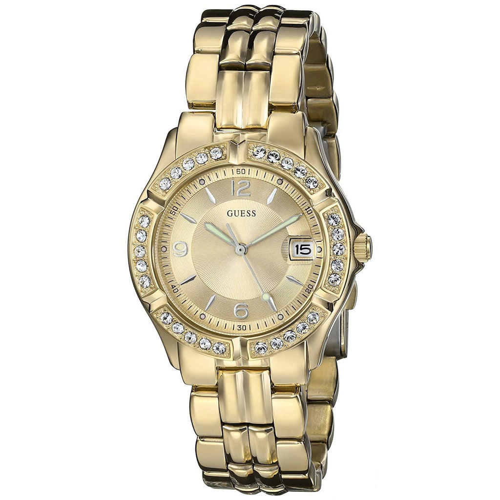 GUESS Women's Stainless Steel Crystal Accented Watch Model U85110L1
