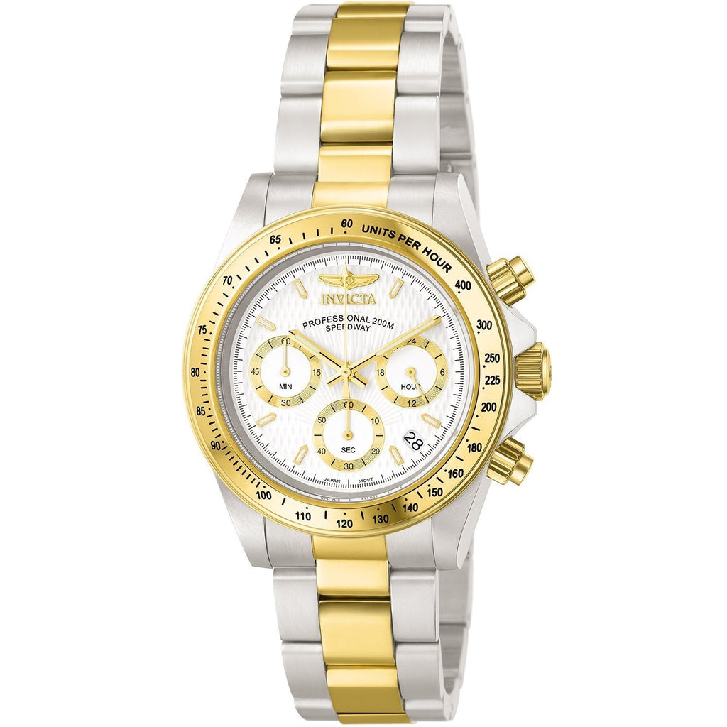 Invicta Men's 9212 Speedway Analog Japanese Quartz Chronograph Stainless Steel Watch - 3alababak