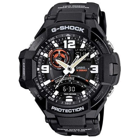 Casio G-Shock Men's Ana-Digi Dial Resin Band Watch GA-1000-1A