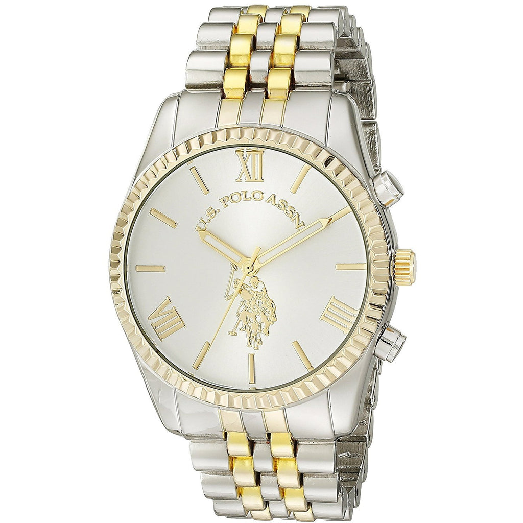 U.S. Polo Assn. Women's USC40057 Two-Tone Bracelet Watch - 3alababak