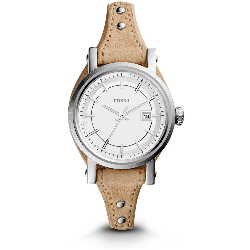 Fossil Original Boyfriend for Women - LIGHT BROWN LEATHER - ES3908