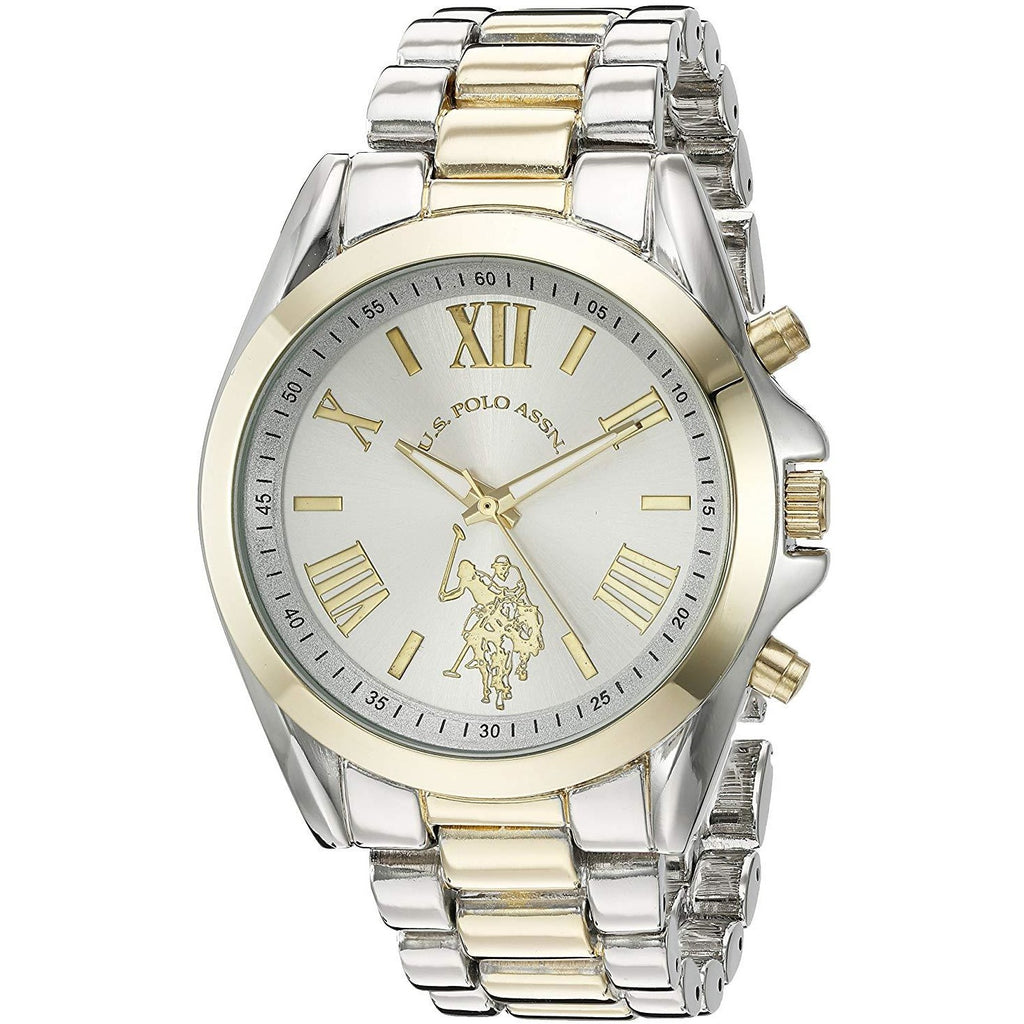 U.S. Polo Assn. Women's Quartz Metal and Alloy Casual Watch, Model USC40117 - 3alababak