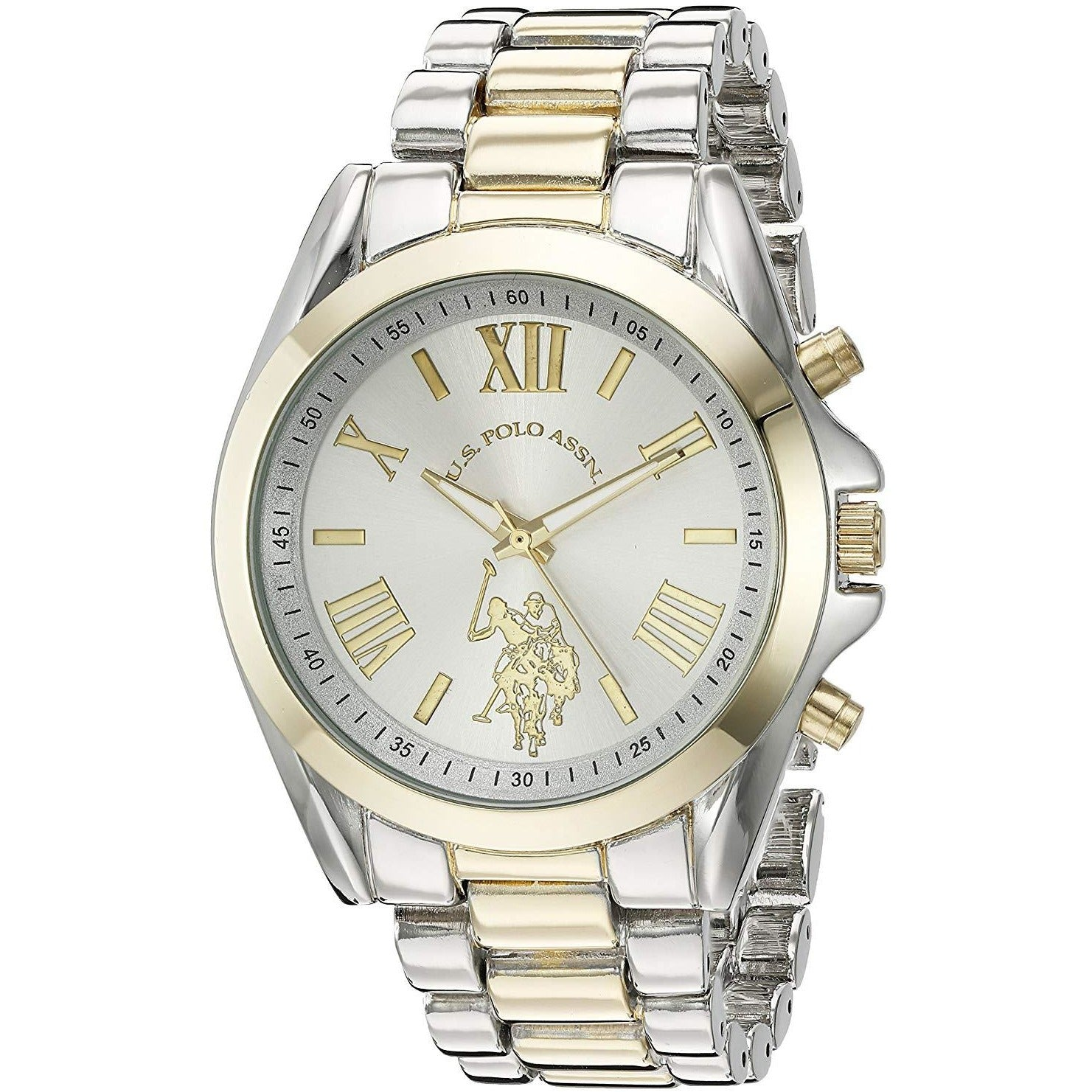 U.S. Polo Assn. USC40117 Women's Quartz Metal and Alloy Casual Watch