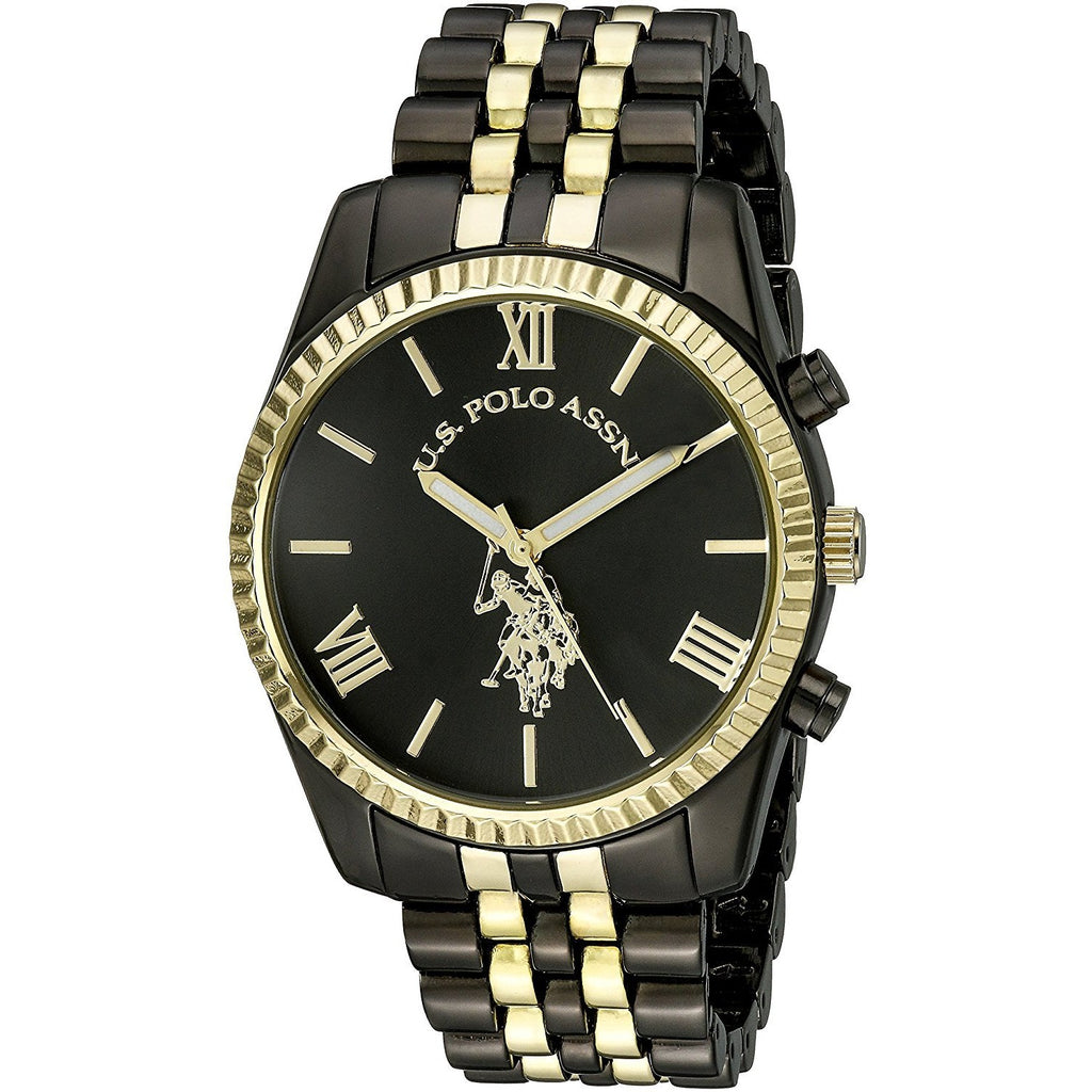 U.S. Polo Assn. Women's USC40059 Two-Tone Bracelet Watch - 3alababak