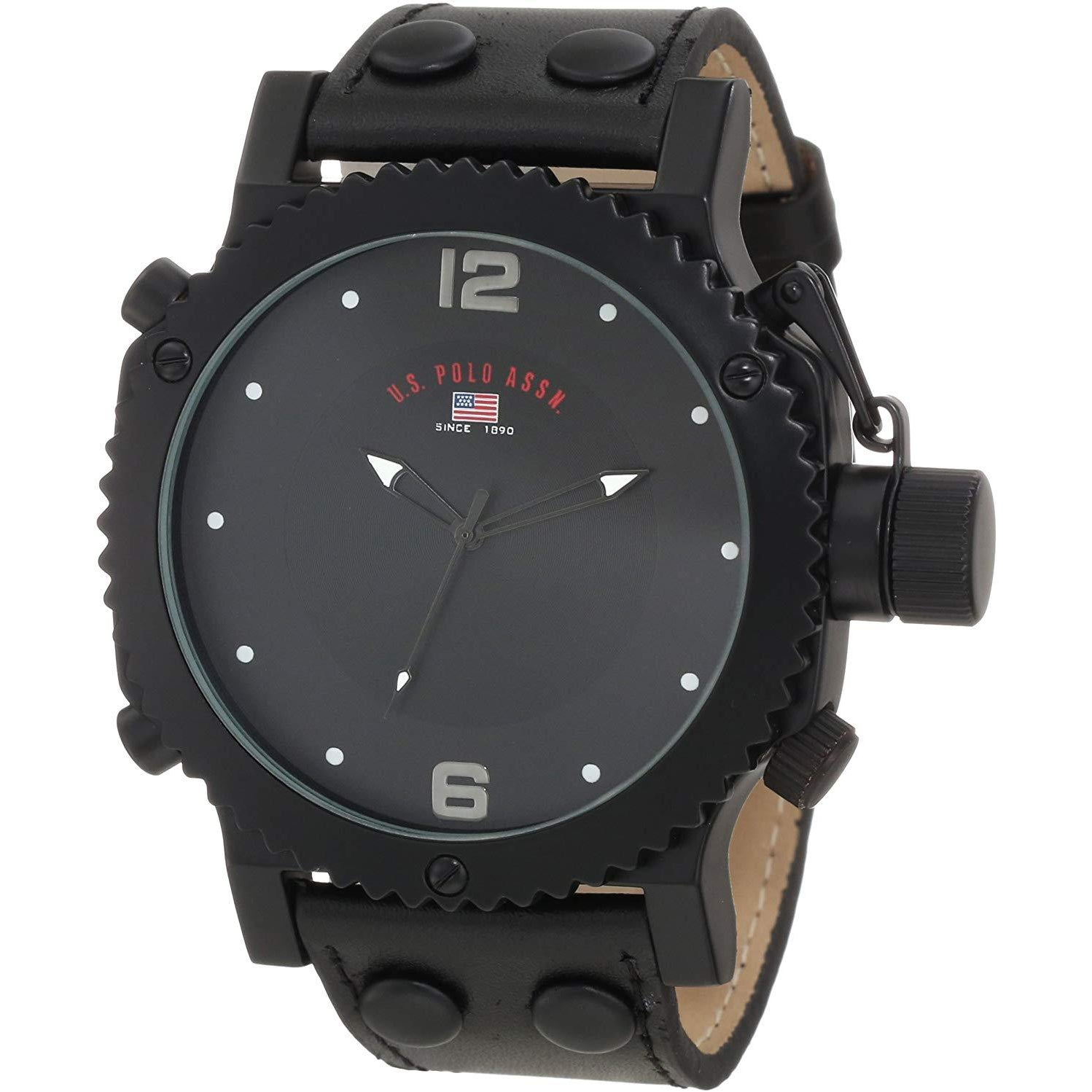 U.S. Polo Assn. Classic Men's US5211  Black Analog Watch