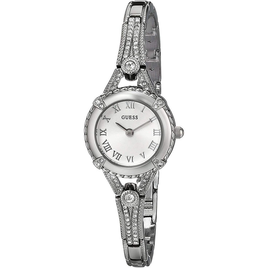 GUESS Women's Stainless Steel  Petite Vintage Inspired Watch Model U0135L1 - 3alababak