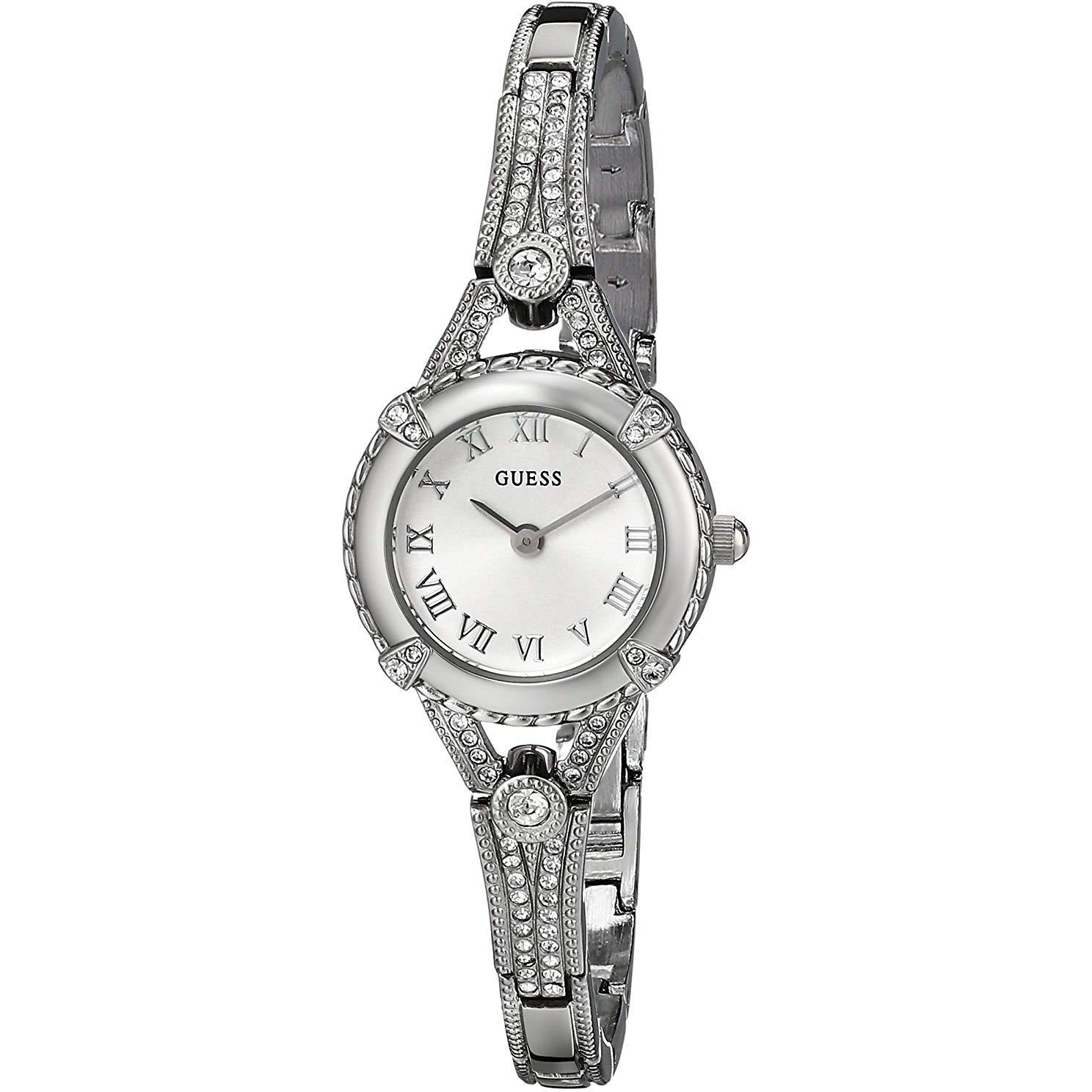 Guess Women's Stainless Steel  Petite Vintage Inspired Watch Model U0135L1