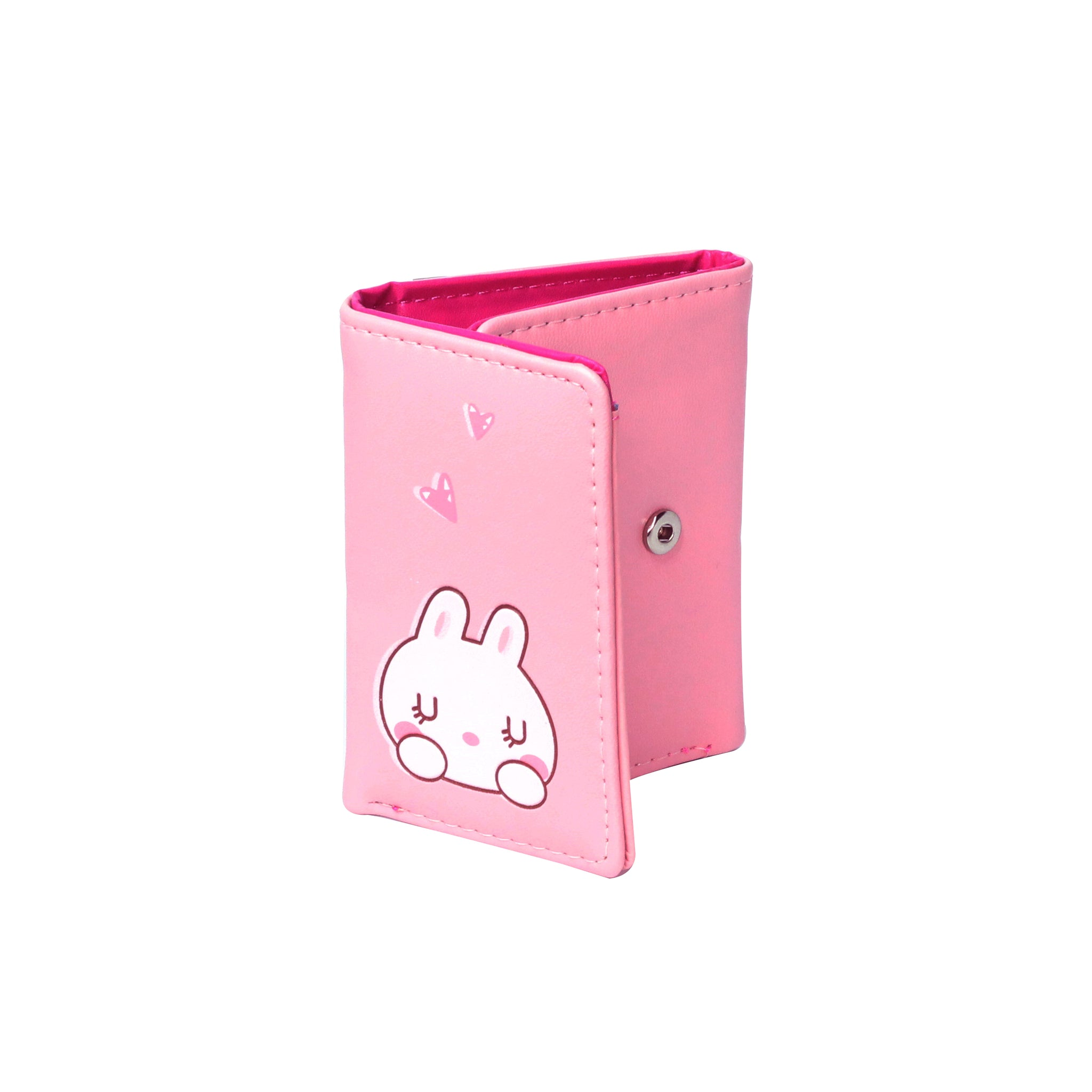 Botusi Slim Trifold Bunny Wallet Multi Colors