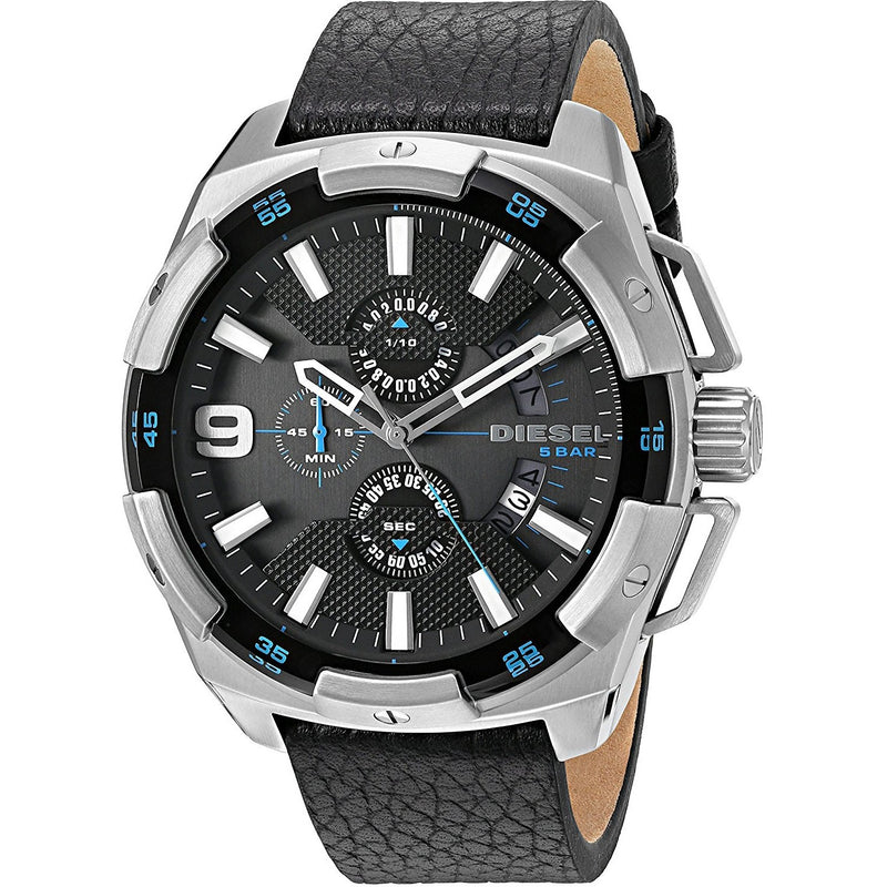 Diesel Casual Watch For Men Analog Leather - DZ4392 - 3alababak